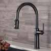 KRAUS Sellette™ Traditional Single Handle Pull-Down Kitchen Faucet