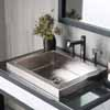 Native Trails Hand Hammered Copper or Nickel Tatra Bathroom Sink