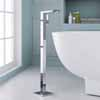 ARIEL Single-Handle Freestanding Roman Tub Faucet, Chrome, 6-3/32