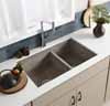 Native Trails Farmhouse 60/40 Double Bowl Kitchen Sink