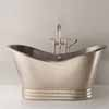 Native Trails 72'' Aurora Bathtub in Brushed Nickel