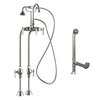Cambridge Plumbing Complete Plumbing Package for Freestanding Bathtub without Faucet Holes
