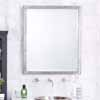 Native Trails Divinity Large or Small Transitional Style Rectangular Mirror