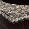 Vanity Top Granite Coral Brown