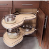 Twin Motion Blind Corner Pullout for Face Frame Cabinetry