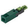 Hafele LOOX5 Adapter 12V or 24V, 3.5 AMP, Plug/Socket  or Socket, Black, Maximum Connected Wattage 42W or 84 W