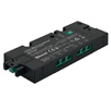 Hafele LOOX5 Connect Mesh 6-Way Distributor with Switching Function, 24 Volts, Maximum Connected Wattage 90 W, Black, 120mm (4-3/4