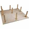 Hardware Resources Peg Board Drawer Insert with Pegs