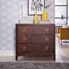 Home Styles Bungalow Drawer Chest in Medium Brown Finish, 39