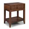 Home Styles Bungalow Night Stand in Medium Brown Finish, 24