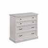 Home Styles Seaside Lodge Four Drawer Chest in White Finish, 39