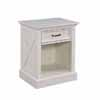 Home Styles Seaside Lodge Night Stand in White Finish, 22