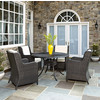 Crosley Furniture Griffith Metal 40 Five Piece Outdoor