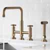 Kraus Urbix™ Industrial Bridge Height Adjustable Kitchen Faucet