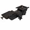 Knape & Vogt Fully Articulated Plastic Glide Keyboard Arm in Black Finish