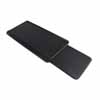 Knape & Vogt Keyboard Tray with Mouse Tray, Black