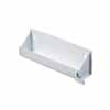 Knape & Vogt Steel Sink Front Tray with Stops in White Finish, 11-5/8''W x 3''D x 3''H