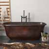 Native Trails Santorini Copper Bathtub