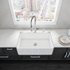Kitchen Sinks Fireclay Apron Front Undermount Or Drop On