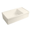 Whitehaus Fireclay Kitchen Sink with Drying Area