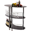 Wine Amp Bar Large Oak Bar And Optional Side Bar By